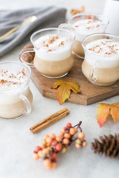 French Vanilla Caramel Coffee Cake Brewed Latte