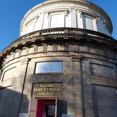 Popped up to Perth last week. Saw the JD Fergusson exhibition in this former water tower. #daysout