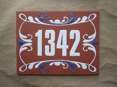 Resultado de imagen para numeros para casas en ceramica