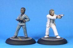 """The Daytona Duo - Human Survivors [Crockett & Tubbs from """"Miami Vice""""]"""