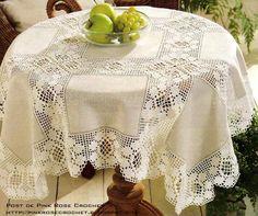 Toalha de Mesa Entremeio c Flor em Croche  (612x511, 391Kb)