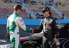 Jeff Gordon Kasey Kahne Photos: Phoenix International Raceway -  Day 2
