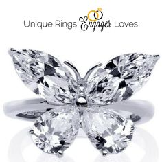 Endless possibilities and interesting thought evoking engagement rings for you Please repin and follow! See all #UniqueRingsEngagerLoves.  We appreciate #unique #engagementrings that tell the couple's story