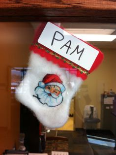Pam's stocking at CCTSI in the Leprino Building #CUHSLibrary