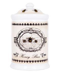 Honey Bees  Canister by Ashdene #zulily #zulilyfinds