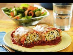Hearty Lasagna Roll Ups