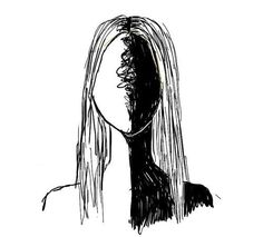 Find images and videos about black, white and art on We Heart It - the app to get lost in what you love. Creepy Drawings, Dark Art Drawings, Art Drawings Sketches Simple, Pencil Art Drawings, Sketch Art, Cool Drawings, Arte Indie, Deep Art, Sad Art