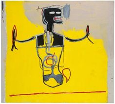 Jean Michel Basquiat - Spike, 1984, acrylic and...