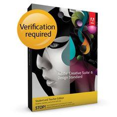 Adobe CS6 Design Standard 6 MAC Student and Teacher Edition