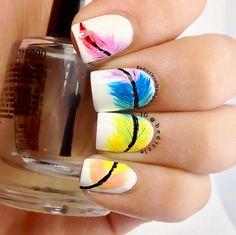 Feather mani