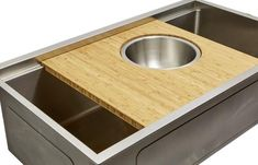 Our single bowl kitchen sink is made of 16 gauge stainless steel with an offset drain right. It features a seamless drain and built in ledge for food prep. An awesome undermount workstation option for a cabinet. Double Bowl Sink, Single Bowl Kitchen Sink, Kitchen Sinks, Kitchen Sink Accessories, Modern Kitchen Design, Kitchen Countertops, Kitchen Cabinets, Kitchen Appliances, Kitchen Lighting