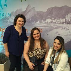 Designers Márcia Vidal e Adriana Ximenes e Camilla Villas. - Evento Quadrilátero do Charme. Vogue Rio - Galeria Fórum Ipanema.  #vikx #joias #voguerio #quadrilaterodocharme #joya #joyaipanema
