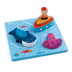 Djeco 1,2,3 Moby 3D puzzle-product