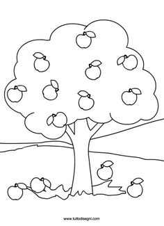 One tree hill coloring pages ~ tree trunk clipart | Tree Pattern - Tree with six branches ...