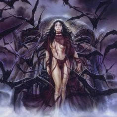 Images: search for similar images Dark Words, Luis Royo, Vampires And Werewolves, Werewolf, Art Boards, Illustration, Nativity, Fantasy Art, Wonder Woman