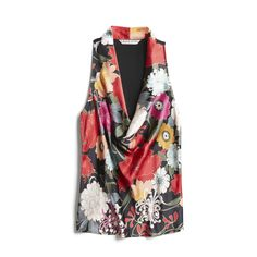 Stitch Fix Spring Stylist Picks: floral cowl neck top