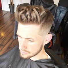 Haircut by joshlamonaca http://ift.tt/1KWEyzV #menshair #menshairstyles…