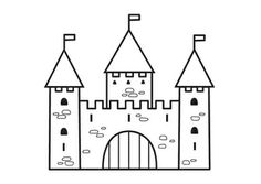 Kleurplaat kasteel-2 Bullet Journal Notebook, Bullet Journal Ideas Pages, Free Coloring Sheets, Coloring Pages, Castle Coloring Page, Castle Crafts, Castle Party, Castle Tattoo, St Georges Day