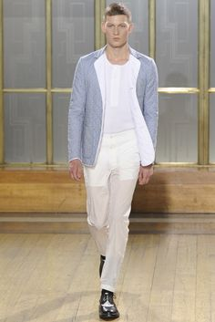 Nicole Farhi Spring 13 - looks like quilted is making it to spring