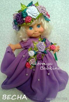 Шифоновая нежность для Galoob baby face / Куклы Galoob Baby Face dolls / Бэйбики. Куклы фото. Одежда для кукол