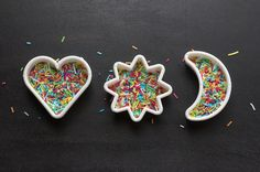 Get Creative with Cookie Cutters - Wish we had known about this earlier. Super simple (and cute) decorating trick!