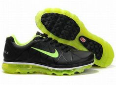 a4415078fe9adb Nike Air Max 2011 Leather Mens Black Green New Nike Air