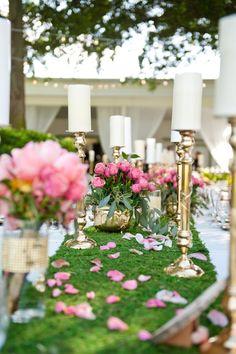 #GardenWedding | #AislePerfect   A Whimsical & Romantic Garden Wedding