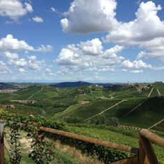 Do you know Barbaresco wine?  And now you see also Barbaresco land, Langhe, Italy.  Just 1 and 1/2 hour drive from La Meridiana Italian Riviera, Garlenda.