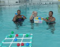 This would be so much fun this summer! Aquatic Tic-Tac-Toe