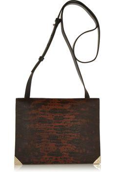 ALEXANDER WANG - Prisma lizard-effect leather shoulder bag