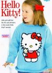 Girls Iconic Hello Kitty Sweater Jumper Knitting Pattern Knit Girls Bow and Flower Knitting Pattern Jumper Knitting Pattern, Cardigan Pattern, Baby Cardigan, Knitting Patterns, Crochet Patterns, Minnie Mouse Doll, Girls Hand, Hello Kitty, Girls Bows