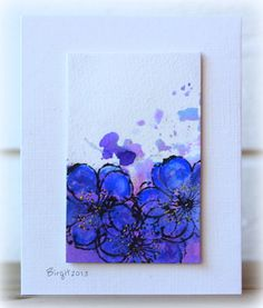 IC385 Poppy by Biggan - Cards and Paper Crafts at Splitcoaststampers