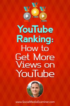 Social Media Marketing Podcast 285. In this episode Sean Cannell explores how to rank your videos on YouTube. via @smexaminer  #socialmedia #socialmediamarketing #socialmediaexaminer #YouTube