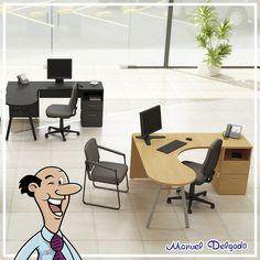 ¿Recibes a mucha gente? Esta #Oficina es para ti.