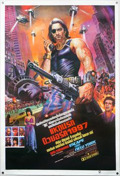 Thai Escape From New York Poster