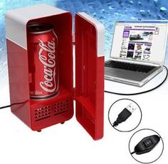 USB DESKTOP FRIDGE. Check out the video and get it here at quickhidemywallet.co.uk