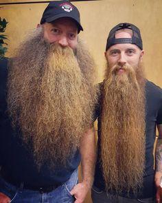 The Epic Brothers Badass Beard, Epic Beard, Long Beard Styles, Hair And Beard Styles, Great Beards, Awesome Beards, Moustaches, Beard Rules, Long Beards