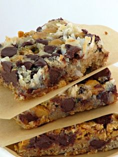 Once Upon A Chocolate Life: Magic Bars, 7 Layer Bars, Hello Dolly Bars