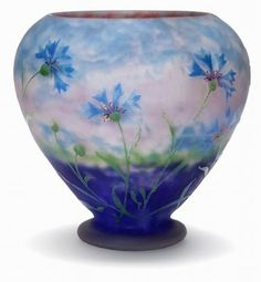 Exquisite collection of French vases and bowls. Love it.
