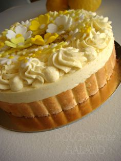 Limoncello, Holiday Baking, Dory, Cheesecake, Lemon, Sweets, Biscuits, Cooking, Estate