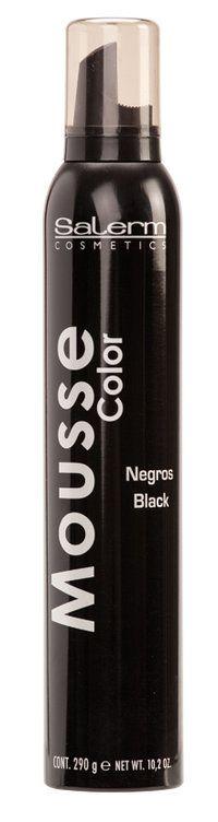 MOUSSE COLOR SALERM - COMERCIAL JUCAR SL  Espuma de color que revitaliza, aporta matices de color al peinado, para cabellos naturales y teñidos