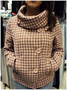 Outro modelo de casaco