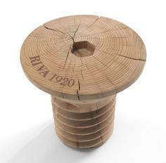 Wooden coffee table by Roberto Giacomucci for Riva 1920