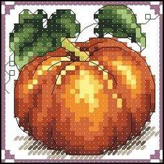 Cross Stitch Charts, Cross Stitch Designs, Cross Stitch Patterns, Embroidery Art, Cross Stitch Embroidery, Embroidery Patterns, Cross Stitch Fruit, Craft Patterns, Yule