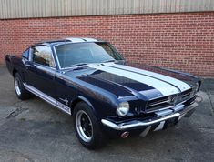 1965 Ford Mustang GT Fastback For Sale, Built February 1965 at the Ford plant in Dearborn, Michigan this Mustang came into Germany firs Ford Mustang Shelby Gt, 1965 Mustang, Mustang Fastback, Shelby Gt500, Ford Gt, Mustang Restoration, Super Snake, Ford Torino, Classic Mustang