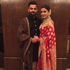 #Virushkas WEDDING RECEPTION @virat.kohli & @anushkasharmas Royal Affair straight from Delhi #AnushkaSharma #ViratKohli #wedding #reception #NewDelhi.
