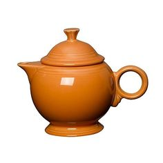 Fiesta 36oz Covered Teapot ($53) ❤ liked on Polyvore featuring home, kitchen & dining, teapots, fiesta tea pot and fiesta teapot