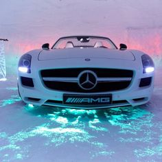Ice Cool Mercedes Benz AMG SLS