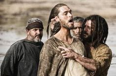 Compare the Son of God movie vs. the Bible. Explore The Bible miniseries controversy and meet the cast of the Roma Downey Jesus movie. Jesus Movie, The Bible Movie, The Bible Miniseries, Mark Burnett, Roma Downey, Jesus Stories, United We Stand, John The Baptist, Son Of God