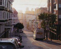 Greg Gandy - Summer Light on Sacramento Street